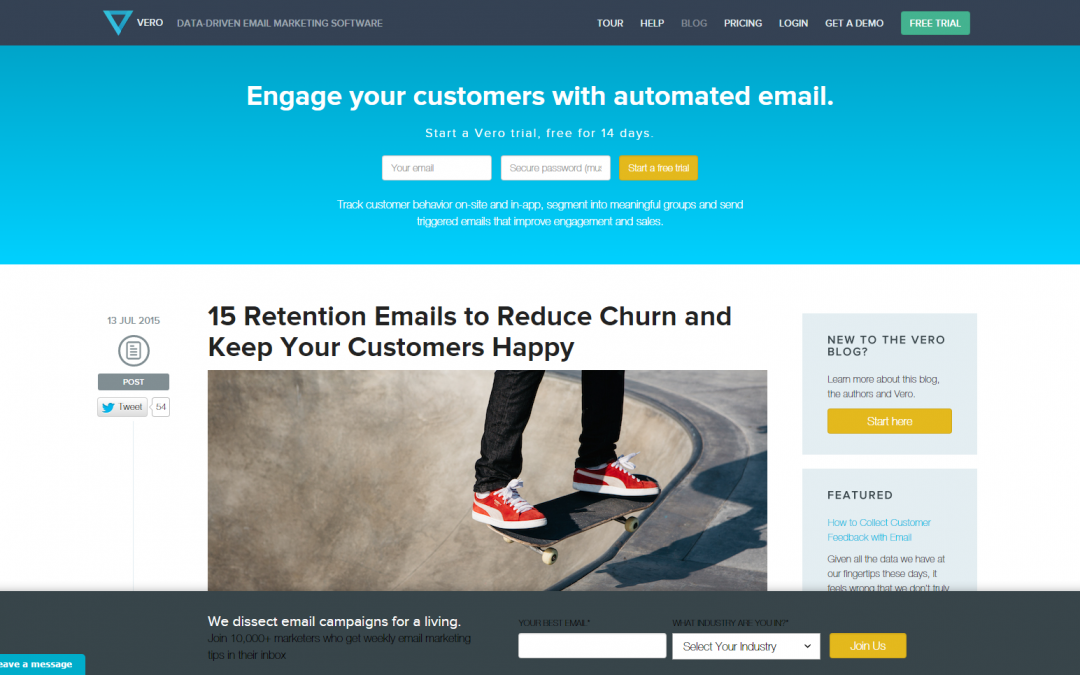 How email communications can help you keep your customers